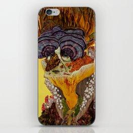Fergus The Mushroom Man iPhone Skin
