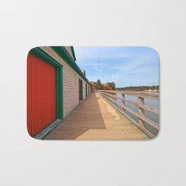 Basin Head Beach Boardwalk Bath Mat