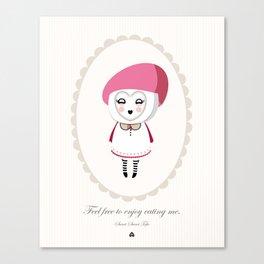 Sweet Sweet Tofu Canvas Print