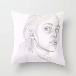 Queen of the East Throw Pillow