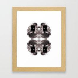 Bear Face 01 Framed Art Print