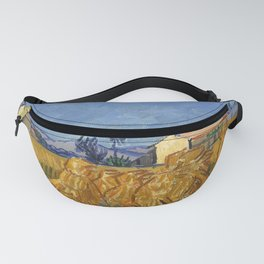 Corn Harvest in Provence Fanny Pack