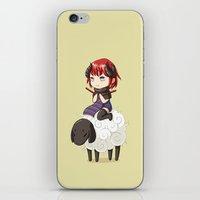 knitting iPhone & iPod Skins featuring Knitting Adventure by Freeminds