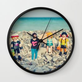 My little world Wall Clock
