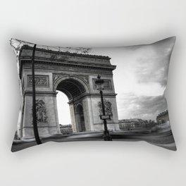 Paris : Arc de Triomphe, défaite d'aujourd'hui Rectangular Pillow