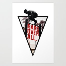 Bar Hopping Art Print