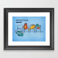 Emergency Room Framed Art Print