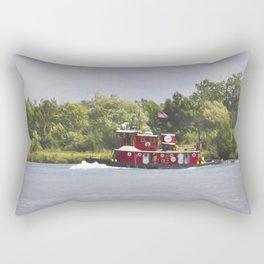 Stephan M Asher Tug Rectangular Pillow