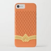 aquaman iPhone & iPod Cases featuring I Am Aquaman by Alex Boatman