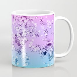 Unicorn Girls Glitter Stars #1 #shiny #decor #art #society6 Coffee Mug