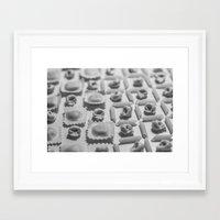 pasta Framed Art Prints featuring Pasta by Isabel Martinez Isabel