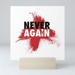 Never Again Mini Art Print
