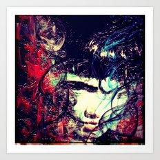 Jolie Moly Art Print