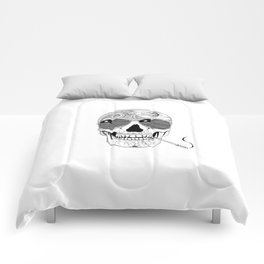 GONZO SKULL (INK ONLY) Comforters