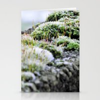 moss Stationery Cards featuring Moss by Danny Arthurs