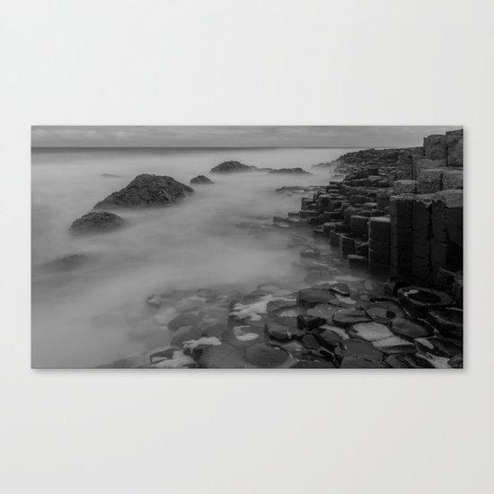 Causeway stones Canvas Print