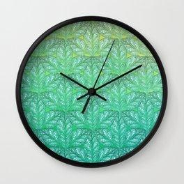Leaf Skeletons #4 Wall Clock