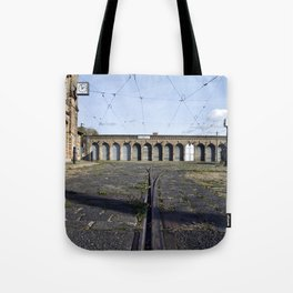 Old Tramstation - Depot - Berlin - Pankow Tote Bag