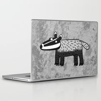 badger Laptop & iPad Skins featuring Badger by Nic Squirrell
