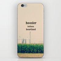 indiana iPhone & iPod Skins featuring Indiana by KimberosePhotography