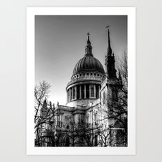St Pauls, London Art Print