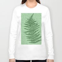 fern Long Sleeve T-shirts featuring Fern by Mr and Mrs Quirynen