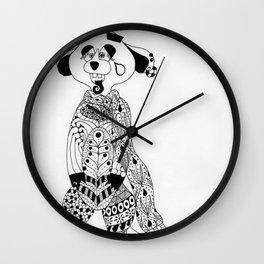 Malcolm the Maladjusted Meerkat Wall Clock