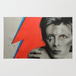 'Bolt of Bowie' Rug