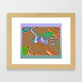 Borzoi Heaven on Earth (Sasa) Framed Art Print