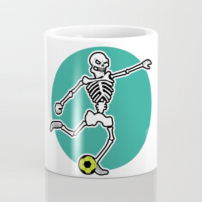 Calavera Soccer Coffee Mug