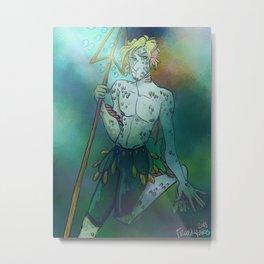 Sanji Fantasy Print Metal Print