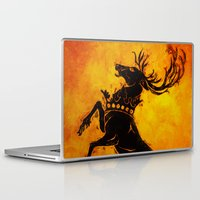 stag Laptop & iPad Skins featuring Stag by Narwen