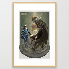 Not Horses, Birds! Framed Art Print