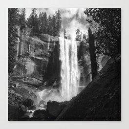 Vernal Falls Canvas Print