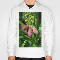 norway Hoodies featuring Norway Spruce by Photography by Michiale