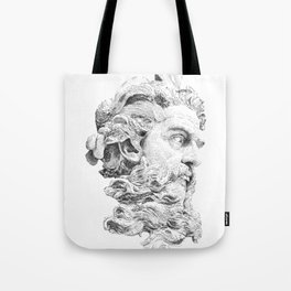 Neptune God of the Sea Tote Bag