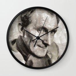 Peter Cushing, Actor Wall Clock
