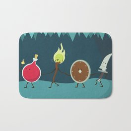Let's All Go On an Adventure Bath Mat