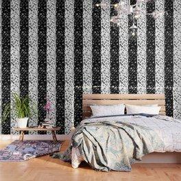 Black and White Sugar Crush Wallpaper