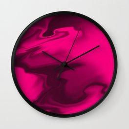 """ABSTRACT LIQUIDS XXXIX """"39"""" Wall Clock"""