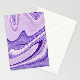 Marble Marbled Abstract Trendy LIX Stationery Cards