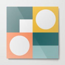 Modern Geometric 53 Metal Print