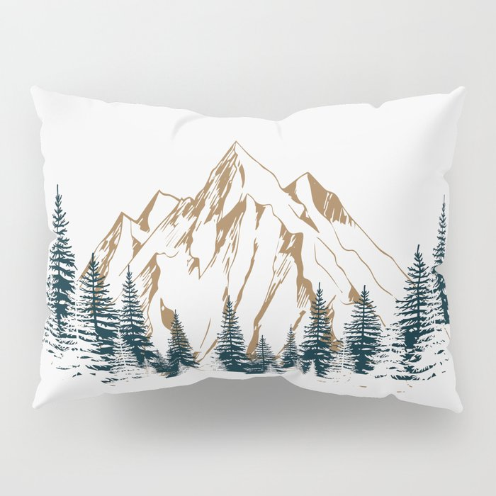 mountain # 4 Pillow Sham