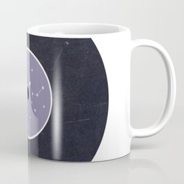 Vinyl Record Star Sign Art | Sagittarius Coffee Mug