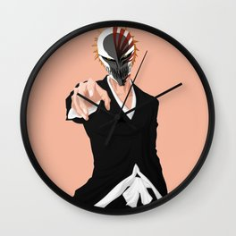 Hollow mask Ichigo Kurosaki Wall Clock