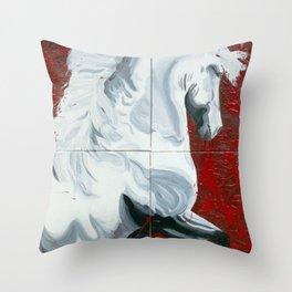 War Horse #1 Throw Pillow