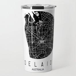 Adelaide White Round Travel Mug