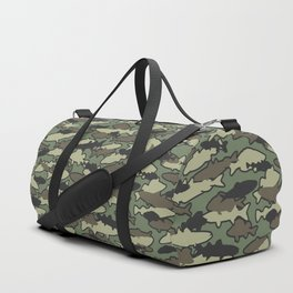 Fish Camo JUNGLE Duffle Bag