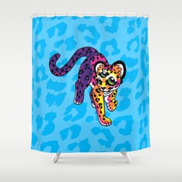 Oracular Leopard Cub Shower Curtain