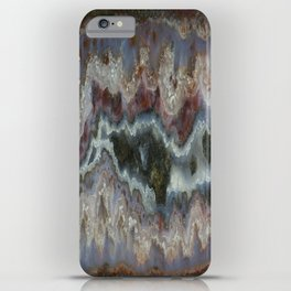 Cady Mountain Banded Agate iPhone Case
